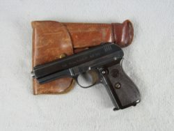 Nazi marked Czek model 27 32 ACP w/ Holster