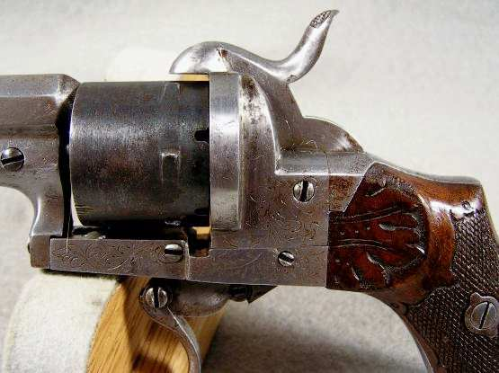 French Pinfire revolver 30 cal