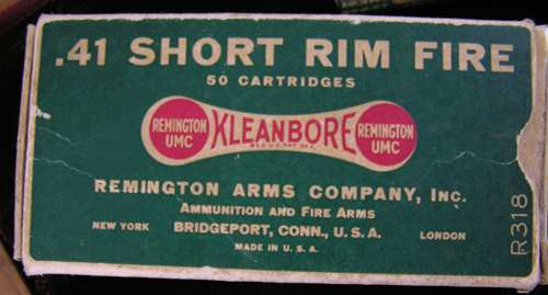 Remington Type 1 No. 2 41 Rim Fire