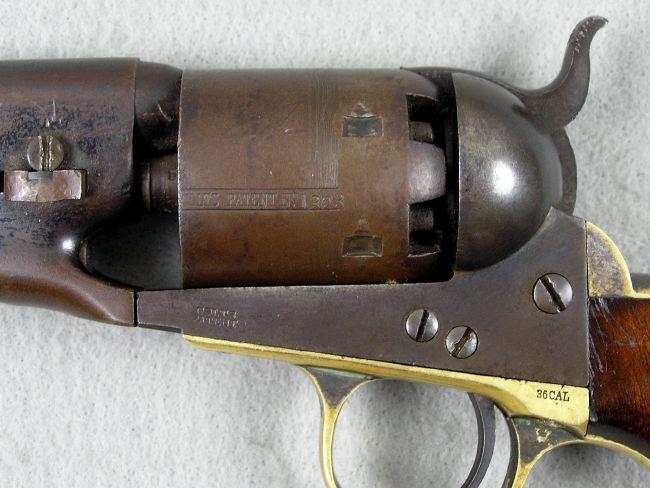 Colt 1861 Navy Revolver Made 1863