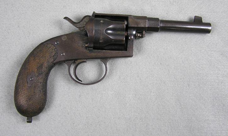 German Model 1883 Reichs revolver