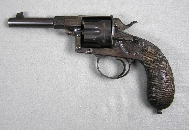 German Model 1883 Reichs revolver o