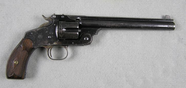 """Smith & Wesson New Model #3 Target 7 5"""" Barrel"""
