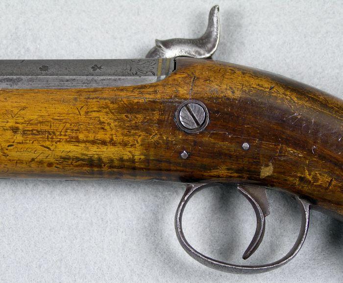Nock 65 Caliber Percussion Coat pistol