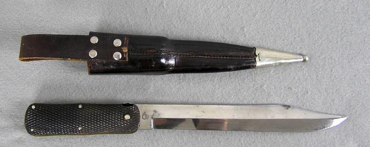 Sheffield Folding Bowie Knife