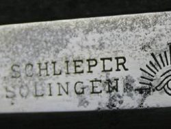 C. Schlieper, Solingen Folding Bowie Knife