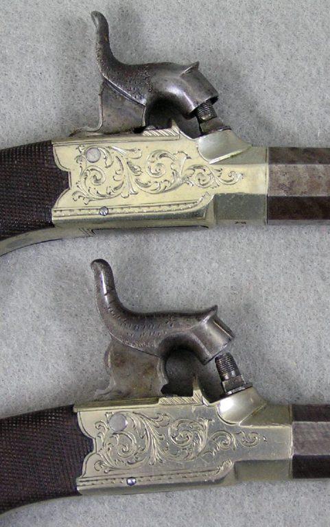 D. Egg Box Lock Pistols
