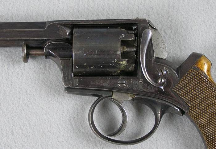 Adams 41 Caliber D.A. Percussion Revolver