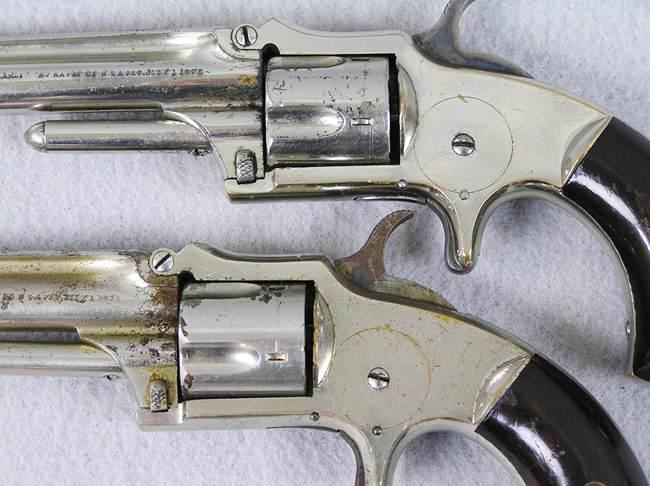 Marlin XXX Standard 1872 Cased Pair