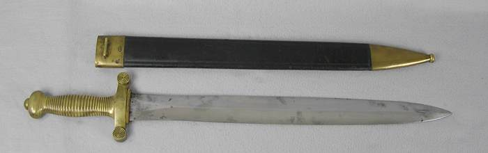 French Model 1831 Foot Artillery Sword