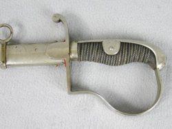 German Officers Sword w/etched Blade