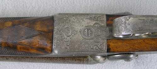 American Arms Co. G.H. Fox Pat Grd 7 SXS Shotgun