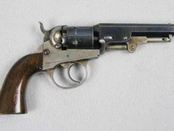 French Model 1822 Percussion Service Pistol