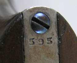 French Model 1822 Percussion Service Pistol