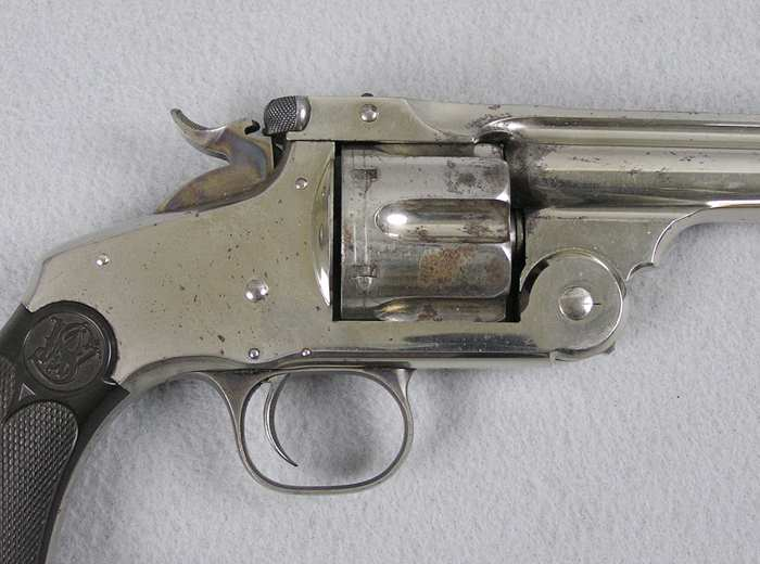 Smith & Wesson New Model No. 3, 44 Cal S&W/Letter
