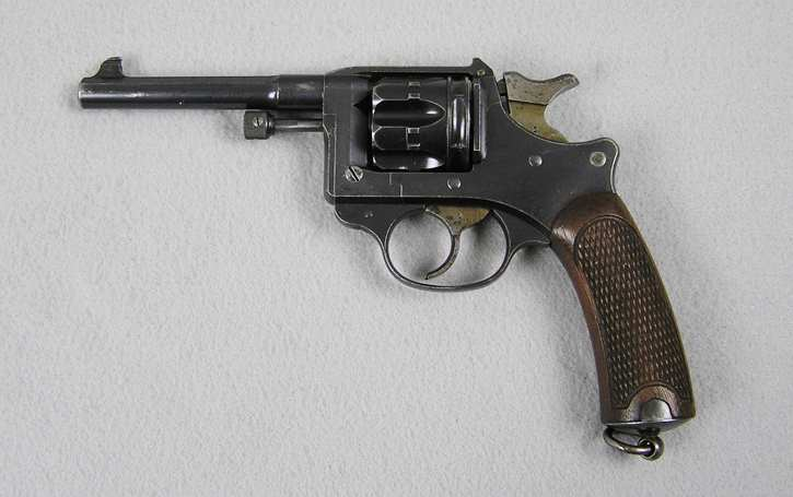 French Model 1892 Service Revolver With Holster