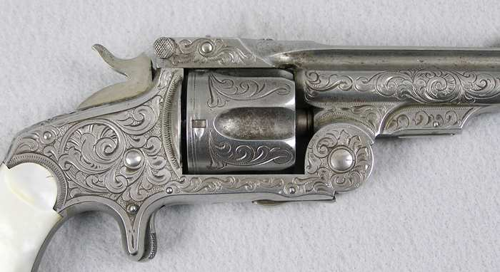 S&W Baby Russian Factory engraved