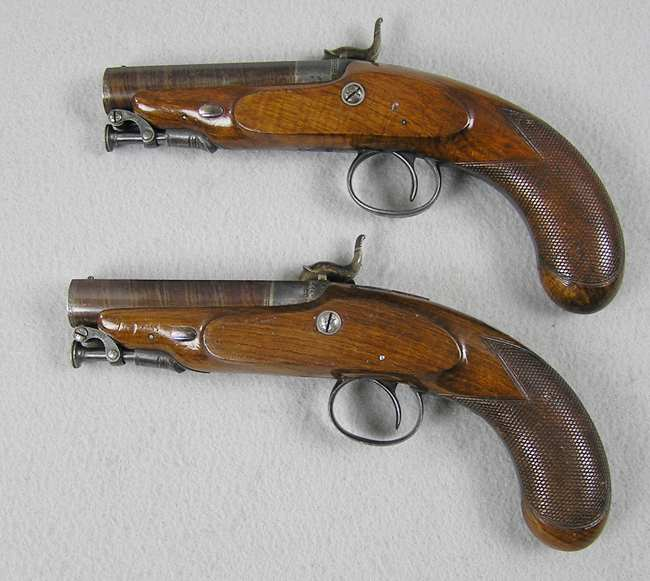 W. Parker 50 Caliber Pocket Pistols