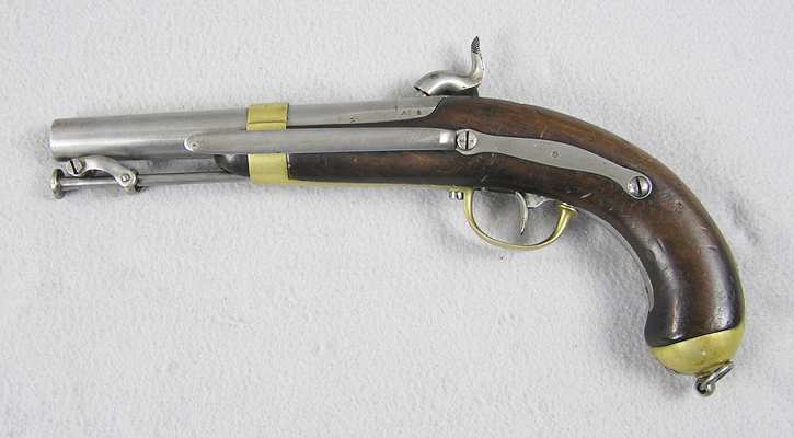 French 1837 Percussion Naval Belt Pistol