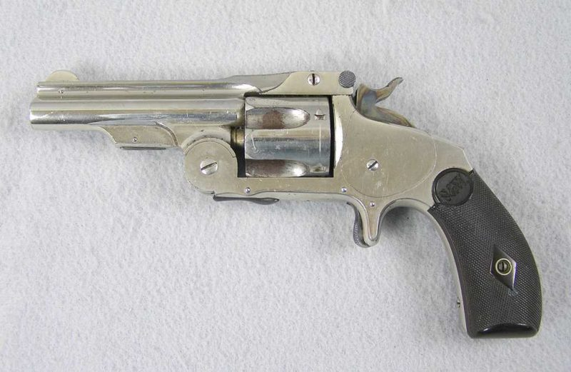 """Smith & Wesson 38 Single Action First Model """"Baby Russian"""""""