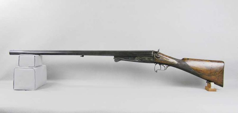 DUPONT & FORIR SxS Double Barrel Shotgun
