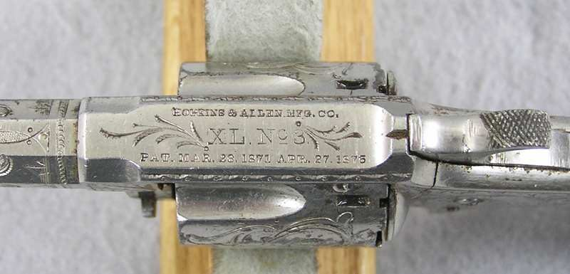 Hopkins & Allen XL No 3 Factory Engraved