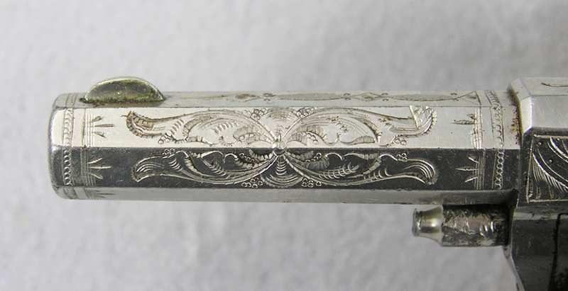 Hopkins & Allen XL No 3 Factory Engraved