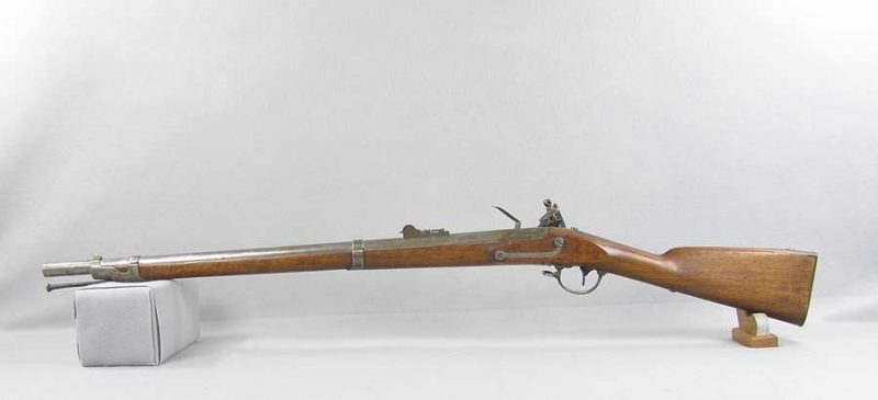U.S. Model 1840 L. Pomeroy Flintlock Rifle