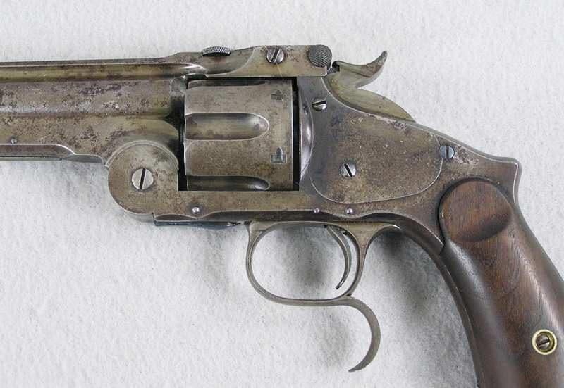 Ludwig Loewe Licensed Copy Of S&W Third Model Russian