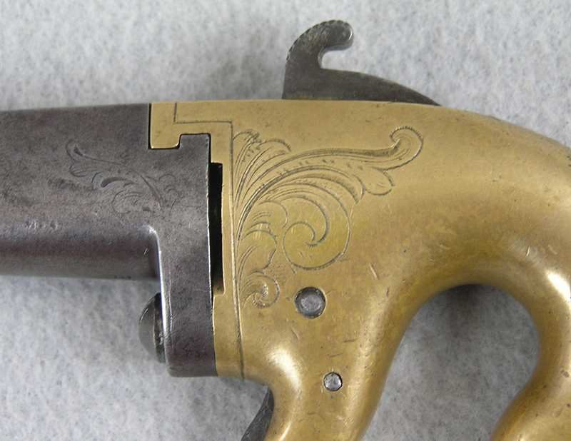 "National Arms Co. 1st Model With Rare 2"" Barrel"