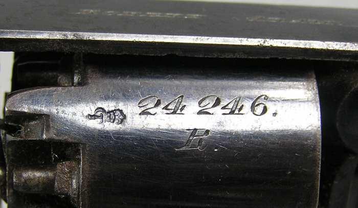 Robert Adams 36 Caliber D.A. Percussion Revolver