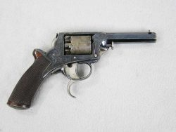 William Tranter 36 Caliber Single Trigger D.A. Revolver