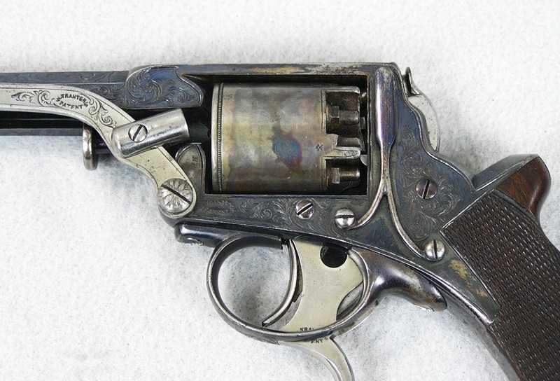 William Tranter 36 Caliber Single Trigger D.A. Revolver