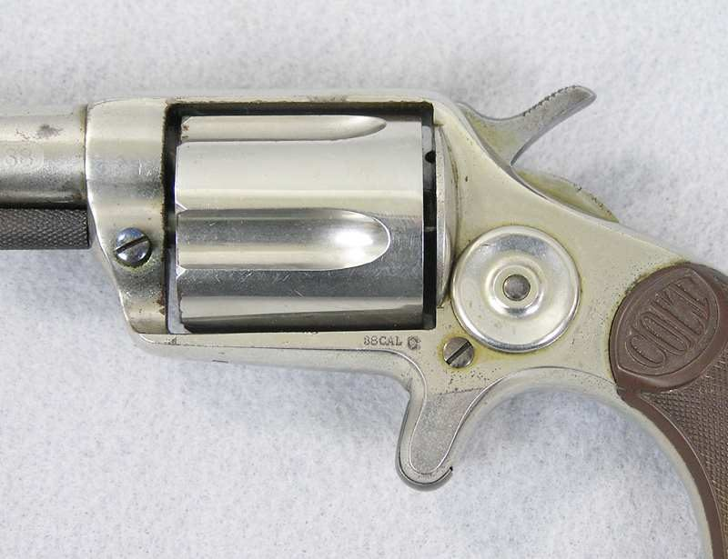 Colt New House Model Revolver Etched Panel