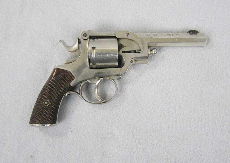 Hills Patent 6 shot D.A. 32 Colt caliber revolver
