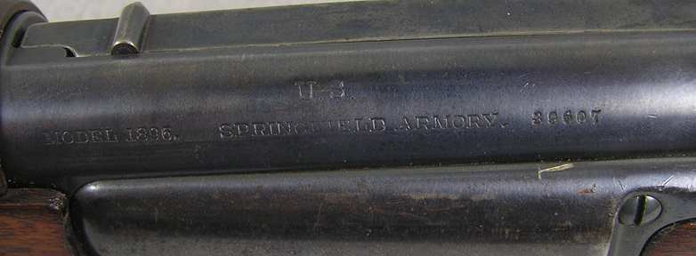 U.S. Springfield Model 1896 Krag Rifle