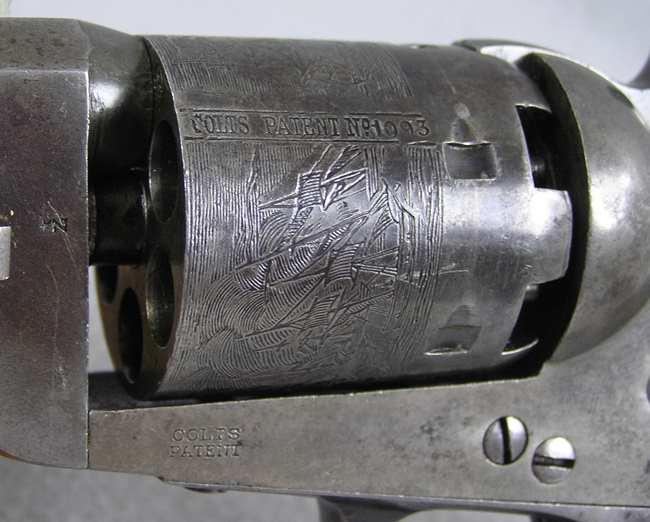 Colt 1851 Navy Brevete 36 Caliber