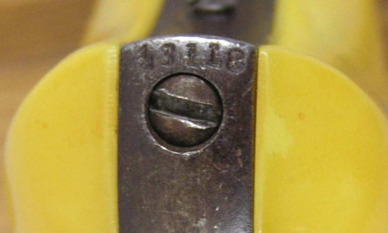 Colt 1877 Lightning Etched Panel