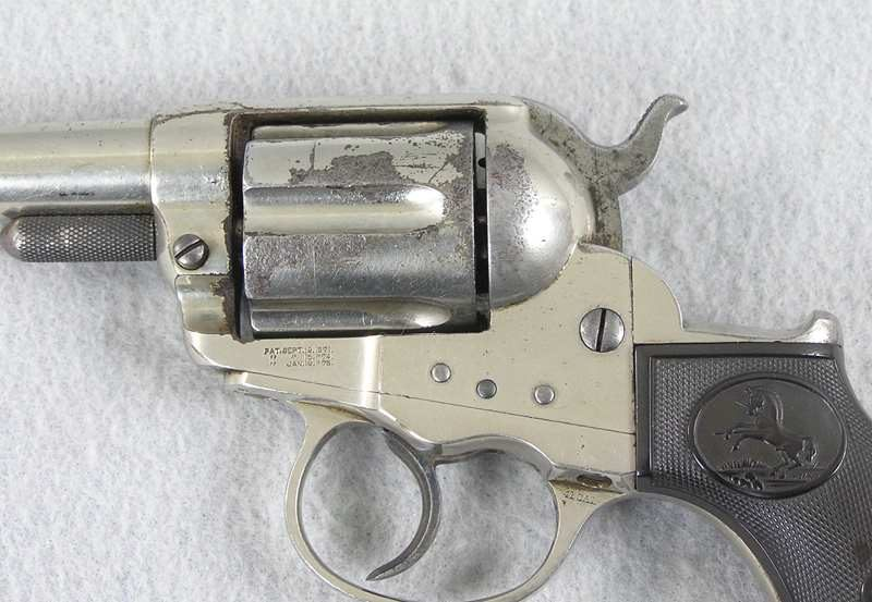Colt 1877 Thunderer Etched Panel 41 Colt D.