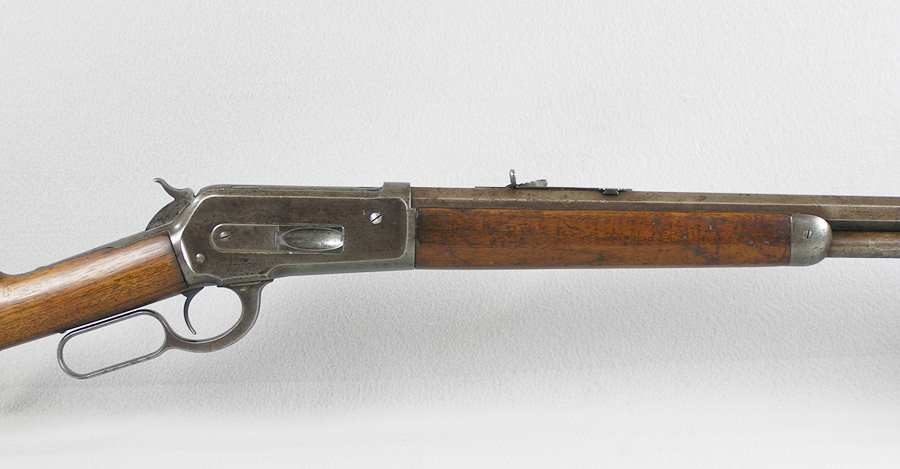 Winchester Model 1886 45-70 Caliber Rifle – 1898andB-4 com