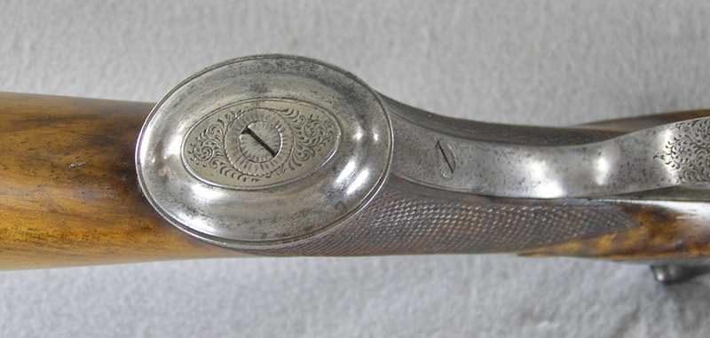 "I. Hollis & Sons .577 2-3/4"" B.P.E. Rifle 4 Platinum Leif"
