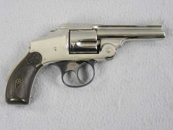 S&W 38 Safety Second Model Nickel