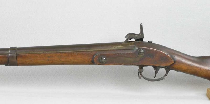 U.S. Model 1816 Type lll Conversion To Percussion Rifle