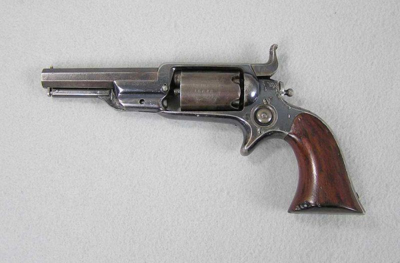 Colt 1855 Sidehammer Pocket Revolver