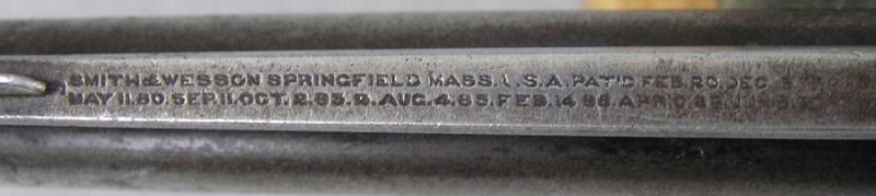 S&W Blue 3rd Model 38 CF Safety Hammerless D.A