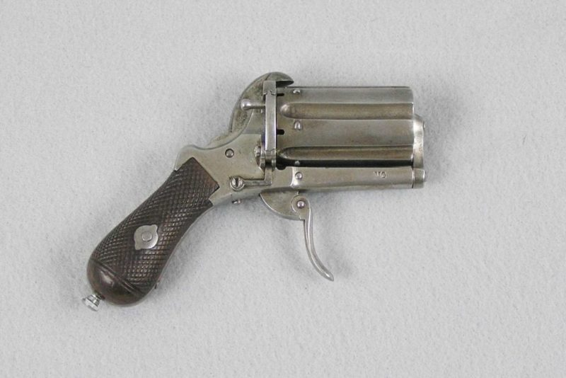 7mm Pinfire Pepperbox D.A.