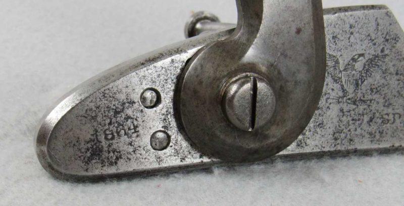 US 1863 Springfield Lock