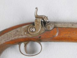 W. Thomas 69 Caliber Percussion Officers Pistol