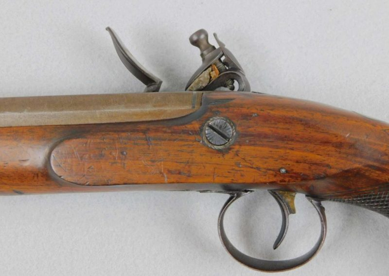 Smith 62 Calbier Flintlock Coat Pistol